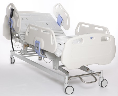 recovery bed: Mobile and adjustable hospital stretcher