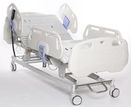 recovery bed: Mobile e barella ospedale regolabile Archivio Fotografico