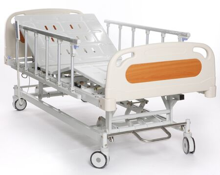 Mobile and adjustable hospital stretcher photo
