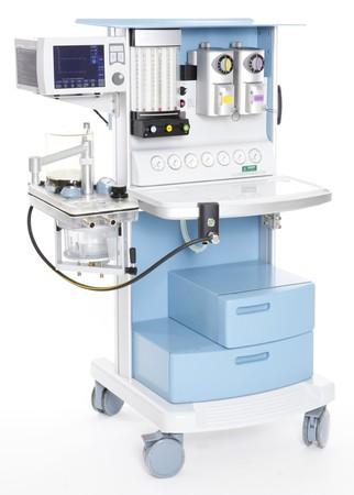 regulator: Modern medical emergency oxygen regulator Stock Photo