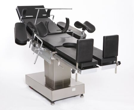 hospitalisation: Lit de chirurgie en acier inoxydable r�glable moderne