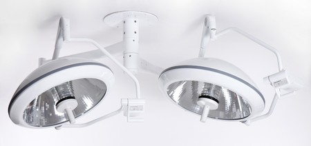 operative: Modern adjustable precision surgery lamp