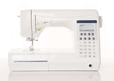 machine: Modern sewing machine