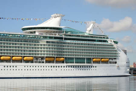 Cruise ship at the dock Stock Photo - 9138140