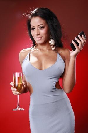 Mensajes de texto de linda chica Caribe acerca de su bebida