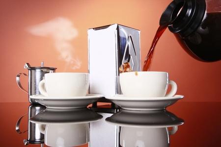 Good morning coffee! Stock Photo