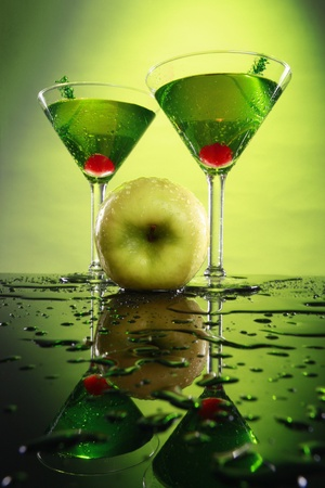 martini: Apple martini