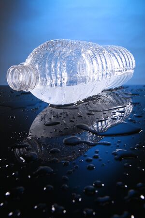 Cold bottled water Stock Photo - 10619941