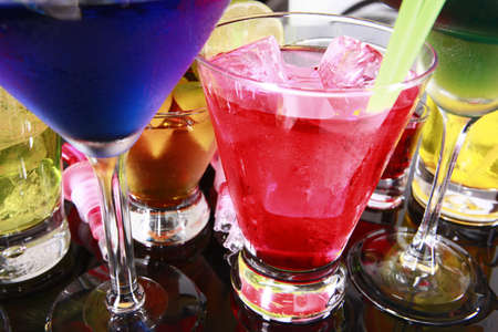 Assorted cocktails fiesta style Stock Photo - 10685345
