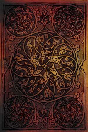 Motif de fond Arabe Banque d'images - 10751973