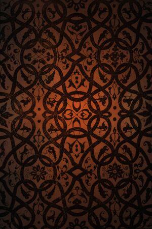 background pattern: Arabic background pattern Stock Photo