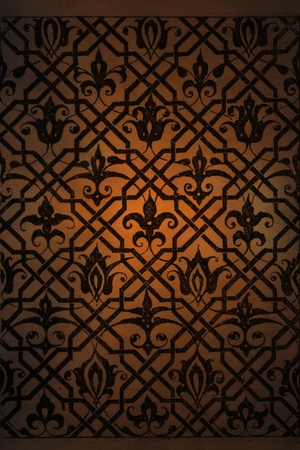 Arabic background pattern photo