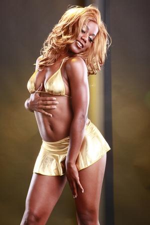 Golden girl photo