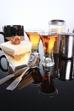caribbean drink: Staple latino dessert, three milk and liquor