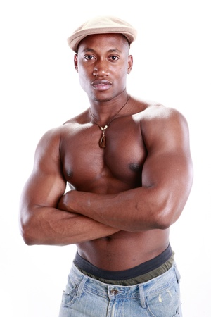 Fit African American Stock Photo - 11890111