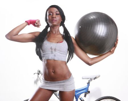 afro caribbean: Combined workout keeps you slim