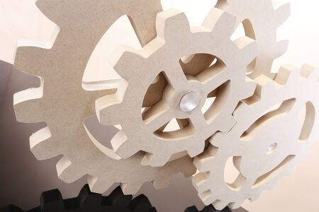 Set of MDS composite gear wheels Stock Photo - 16916097
