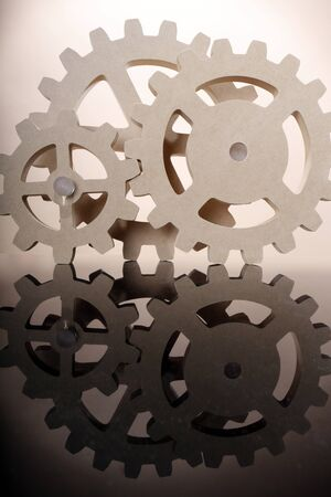 Set of MDS composite gear wheels Stock Photo - 16916049