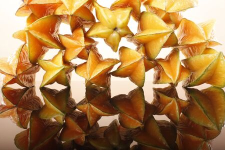 Pattern of Star Fruit Stock Photo - 16916060