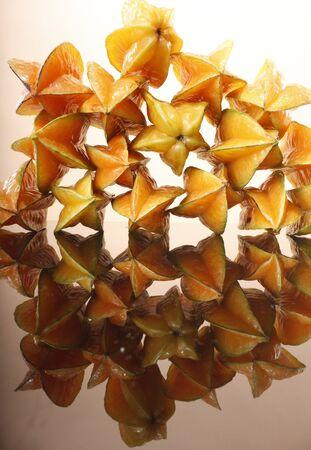 Pattern of Star Fruit Stock Photo - 16916058