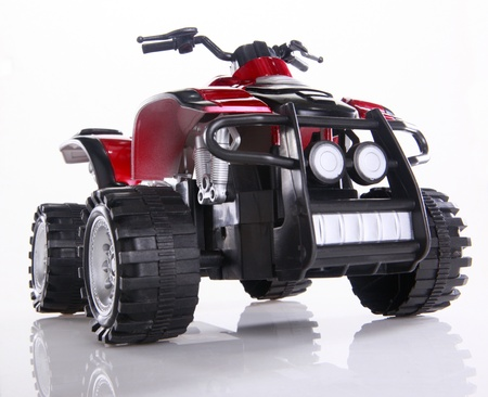Modified toy ATV Stock Photo - 16916018
