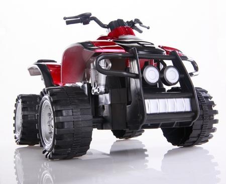 Modified toy ATV Stock Photo