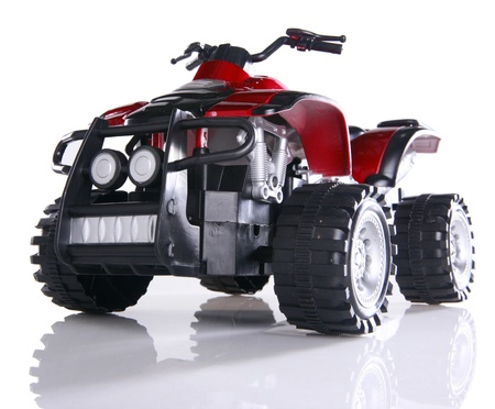 Modified toy ATV Imagens