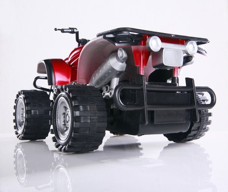 Modified toy ATV Stock Photo - 16916017