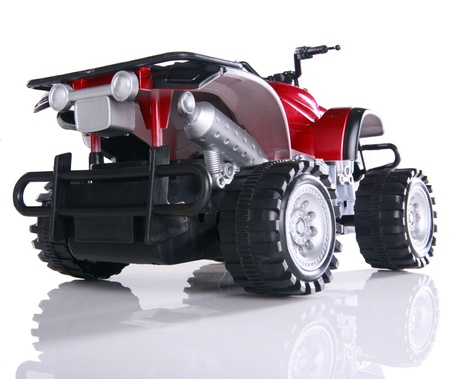 Modified toy ATV Stock Photo - 16915990