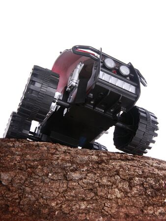 Modified toy ATV Stock Photo - 16916020