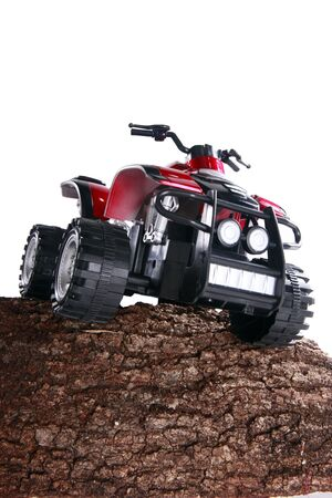 Modified toy ATV Stock Photo - 16916076