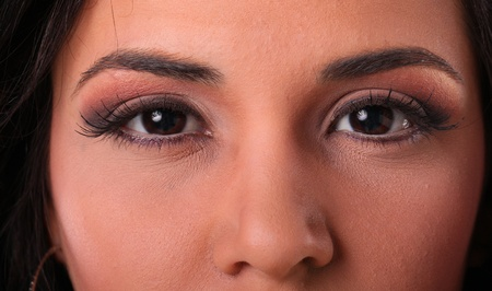 Makeup up close Stock Photo - 17124954