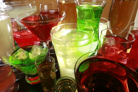 shooter drink: Colorful cocktail variety