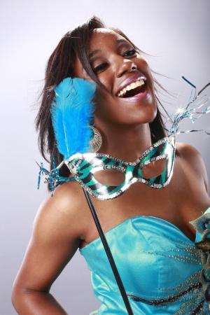 skimpy: Happy carnival Stock Photo
