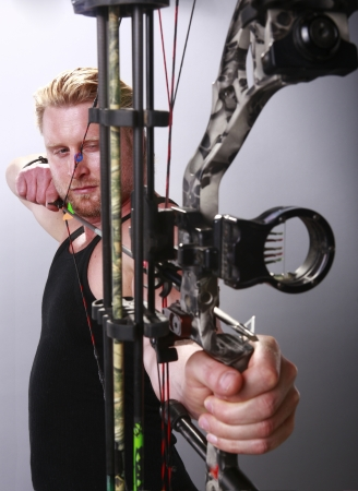 Compound bow Stock Photo - 18122727