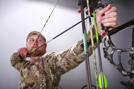 Compound bow Stock Photo - 18122679