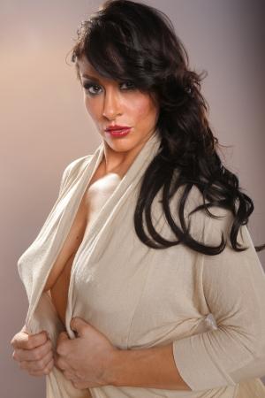 Sexy mediterranean woman