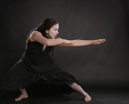 Theatrical Butoh dance