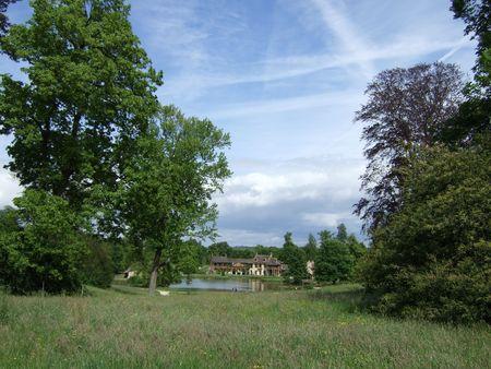 Versailles, Marie-Antoinette Estate: The Queen's House 写真素材