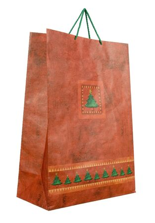 goodie: paper bag - christmas gift