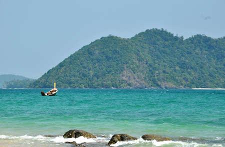 ka: Leam Ka beach, nice beach in Phuket, Thailand Stock Photo