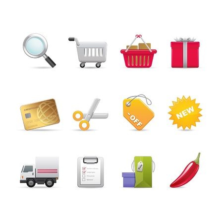 Sale and shopping related icons
