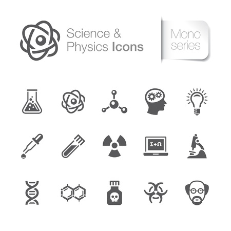 beaker: Ciencia física iconos relacionados