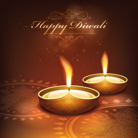 Diwali festival graphic design   Vector