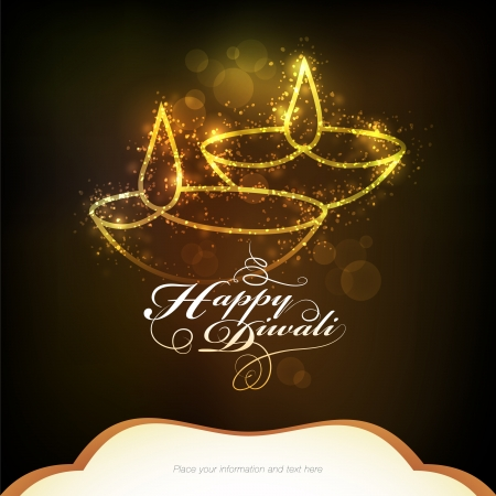 Diwali festival graphic design Stock Vector - 22760224