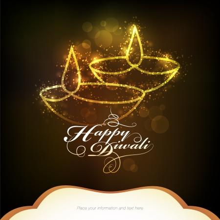 Diwali festival graphic design