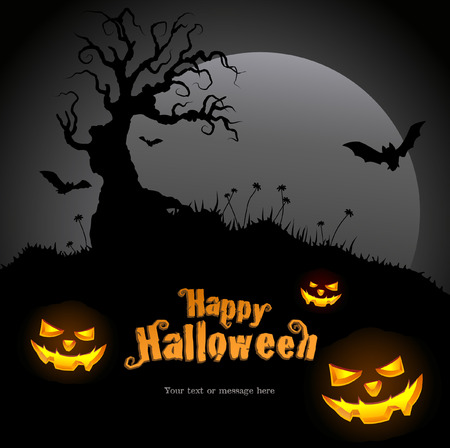 Halloween graphic design  Come with layers   Vector