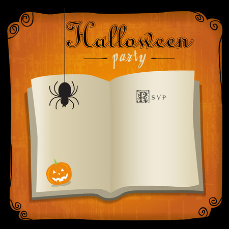 Halloween graphic design  Come with layers