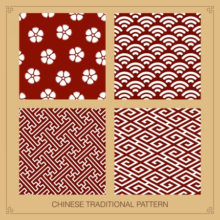 pattern: Traditionele chinese patroon