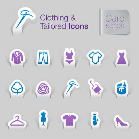 Clothing related icons